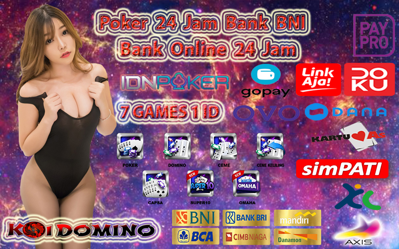 Poker 24 Jam Bank BNI